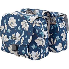 Basil Magnolia S Gepäckträger Doppel-Tasche 25l teal blue
